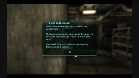 Fallout 3 Bobblehead -Small Guns-