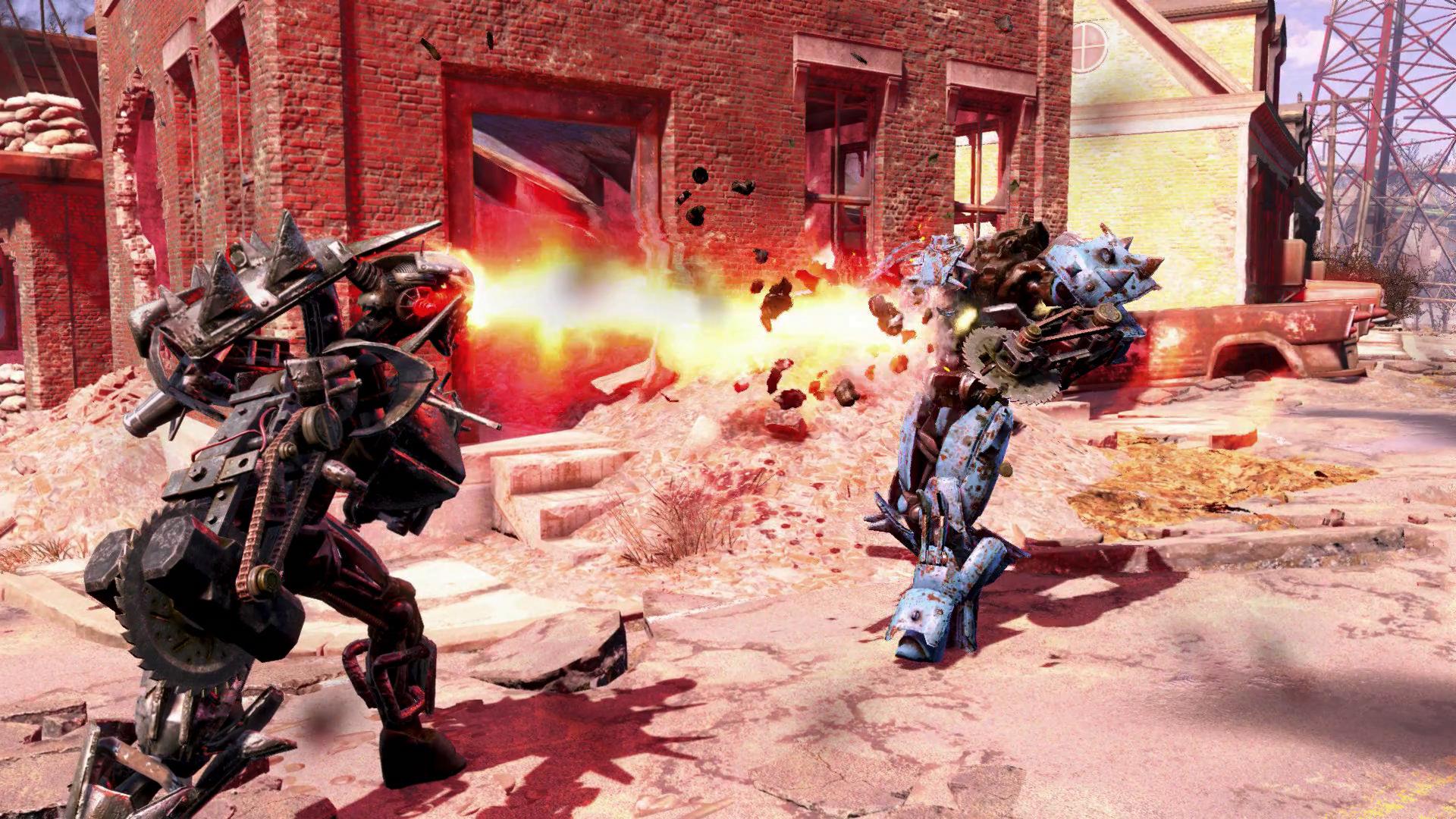 Fallout 4 Automatron pre-release 5