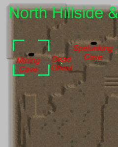 Mining caves map