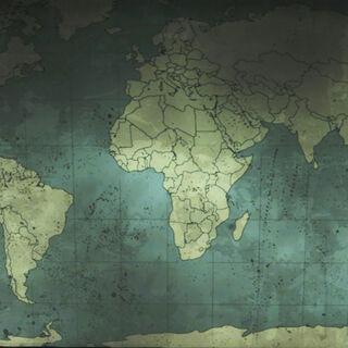 Світова карта у федеральному центрі