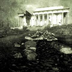 Меморіал Лінкольна і статуя в <a href=