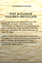 FO76 Soldier's certificate