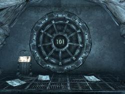 Vault 101 entrance ext.