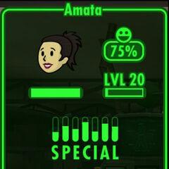 Fallout Shelter Amata infobox