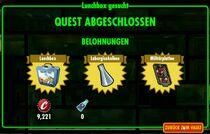 FOS Quest - Lunchbox gesucht - Belohnungen