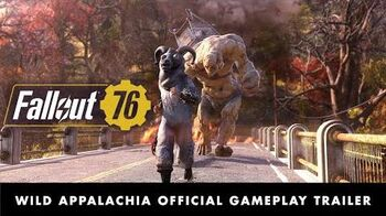 Fallout 76 – Wild Appalachia Official Gameplay Trailer