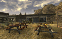 Mojave Outpost barracks