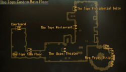 Tops casino main floor map