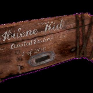 Stock of Abilene Kid LE BB gun.