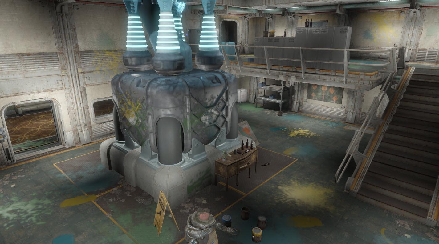 FO4-FarHarbor-Vault118-GeneratorandSantiago
