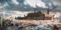 FO4 E3 Diamond city Concept