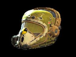 FO4 Yellow flight helmet