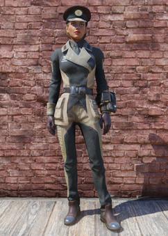 FO76 Enclave Officer Uniform