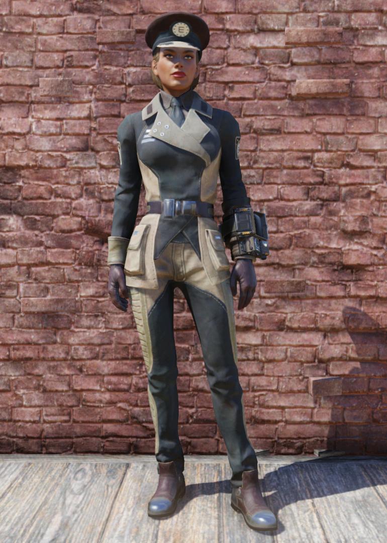 50fdaf6aece Enclave officer uniform (Fallout 76)