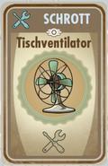 FOS Karte - Tischventilator