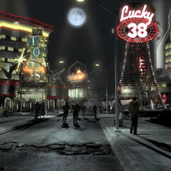 The Strip in the <i>Fallout: New Vegas</i> intro
