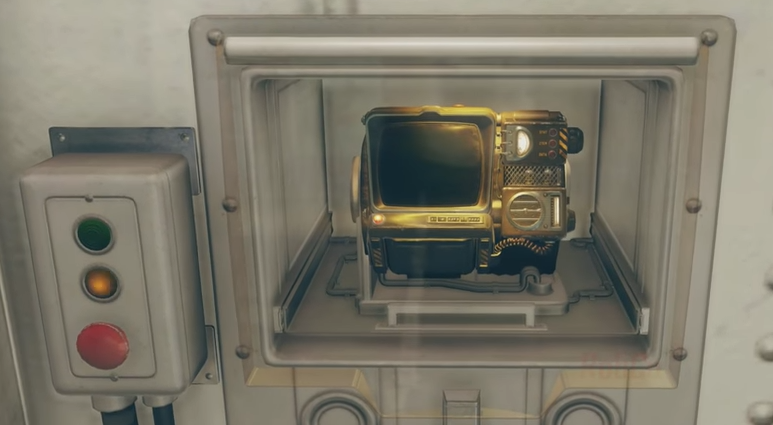 Pip-Boy 2000 Mark VI vault case