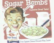 Плакат сахарных бомбочек