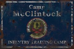 F76 Camp McClintock Sign