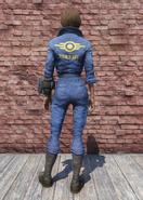 FO76 Vault-Tec Jumpsuit Back