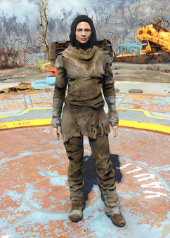 Fo4Radstag Hide Outfit