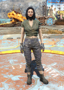 Fo4 Wrap and Ragged Pants female