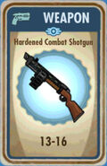 FoS Hardened Combat Shotgun Card