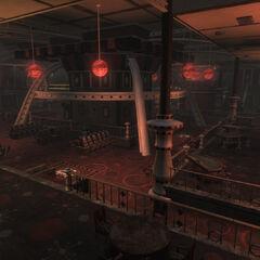 Вид казино з балкона «V. I. P. Lounge» кафе