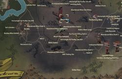 Mount Blair map