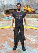 Vault-Tec t-shirt male