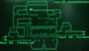 Vault 108 living quarters loc