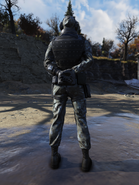 Brotherhood Special Ops Suit with Mask Back