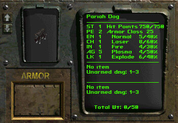 FB4 Pariah Dog stats