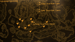 FNV log page locations
