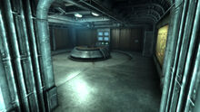 FO3 Vault 101 Overseer's Office entrance