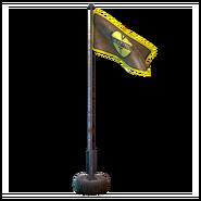 FO76 ATX camp decoration flagwaving futuretec 01