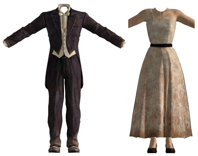 Formal Wear Fallout New Vegas Fallout Wiki Fandom Powered By