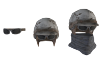 Fo4 metal helmet cut