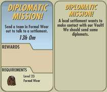 FoS Diplomatic Mission! card