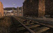 FNV Little Buster Dead in Freeside