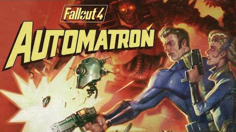 Fallout 4 tráiler oficial de Automatron