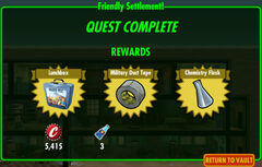 FoS Friendly Settlement! rewards D