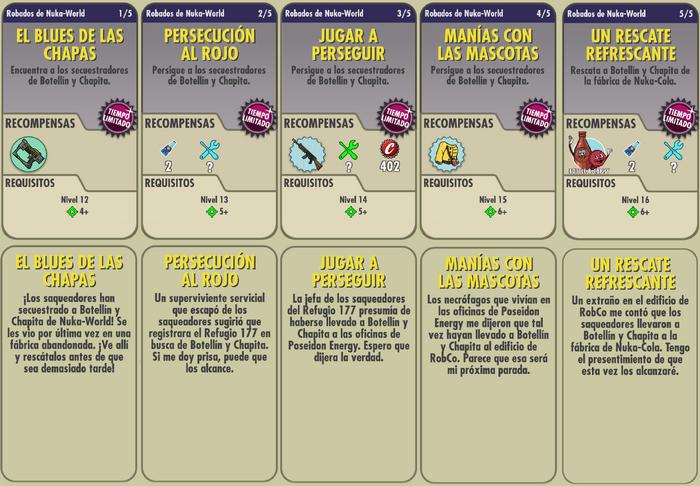 FoS Robados de Nuka-World misiones