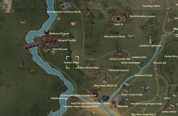 Hunter's Ridge map