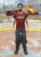 Nuka-Cherry t-shirt male