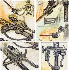 Shishkebab concept art, detailed, by Adam Adamowicz
