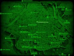 FO4 Кембриджский хозмаг (карта мира)