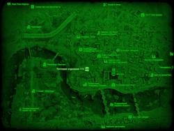 FO4 Почтовое отделение 115 (карта мира)