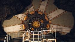 FO76 Vault 63 Door entrance