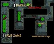 Junk piece warehouse district